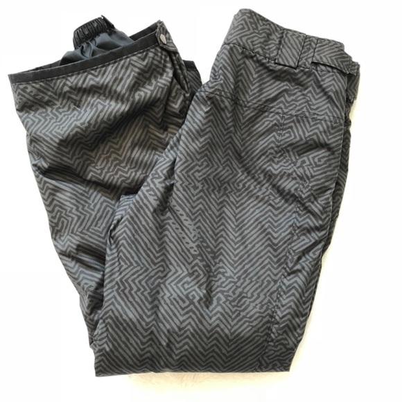 Columbia Pants - Columbia Black Snow Pants Size Small SHORT Gray
